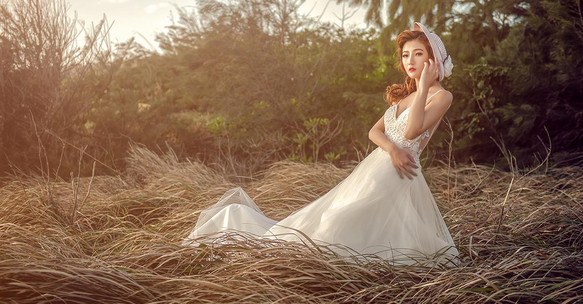 [婚紗攝影] 水牛坑 草漯沙丘婚紗創作